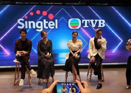 一衆小生花旦新加坡登台為TVB造勢 新馬雙料視後新劇找回初戀感覺TVB劇