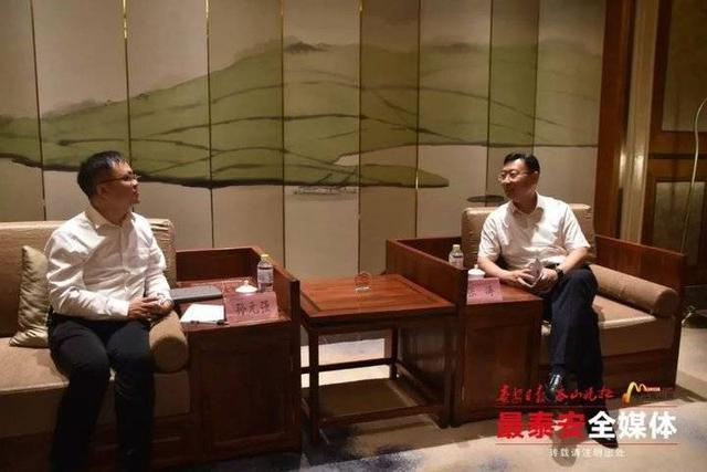 泰安市长张涛会见人工智能领军企业CEO齐鲁壹点