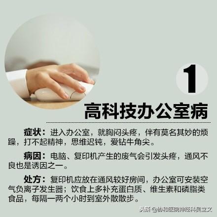 【办公族自查!这10种职业病你有吗?】① - 第1张  | 网络大咖