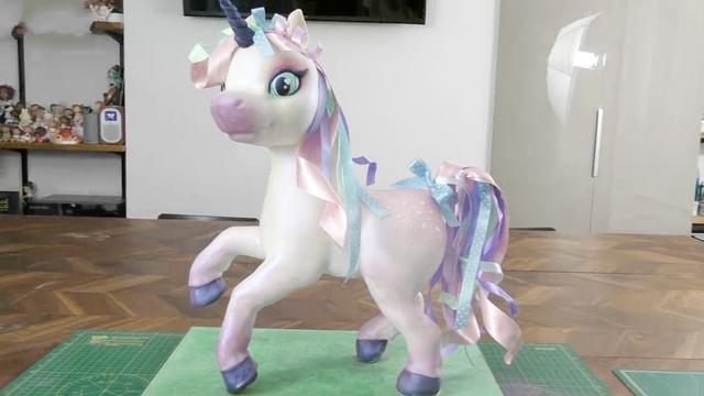 这么漂亮的小马居然是牛人做的翻糖蛋糕!你知道她的名字叫什么吗