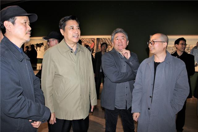 """""""守望——王赫赫作品展""""亮相中国美术馆"""