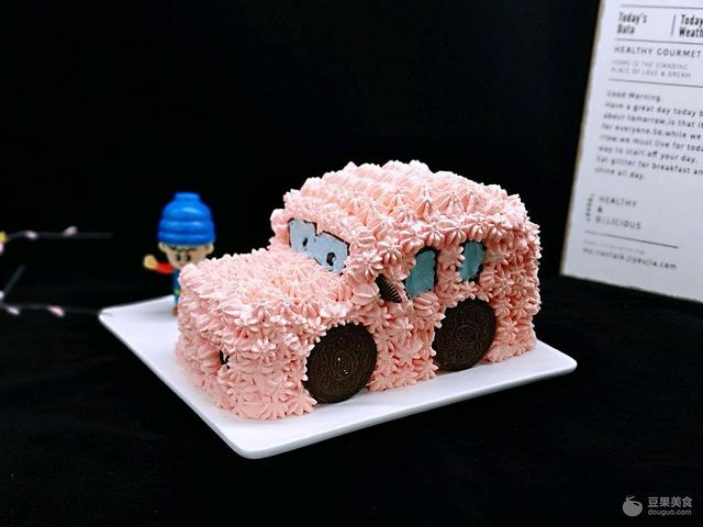 多力金牌大厨带回家-北京站 卡通小汽车蛋糕