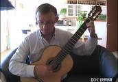 大师Per-Olov Kindgren古典吉他独奏克莱普顿《泪洒天堂》