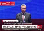 王毅:对侵害中国公民正当权益的霸凌行径 中方绝不会坐视不管