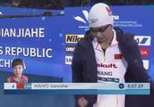 杭州游泳锦标赛,王简嘉禾800自夺冠集锦!
