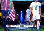 世俱杯-鹿岛鹿角3-2瓜达拉哈拉 时隔2年半决赛再战皇马