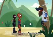 终极蜘蛛侠,碰到有点神经质的蜘蛛船长,只有把他绑起来谈话