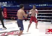 昆仑决蒙古勇士对战香港拳王,凶悍打法打得对手四处乱逃!