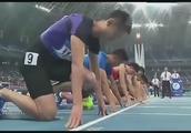 追忆-全运会男子100米半决赛,苏炳添谢震业张培萌携手晋级,厉害