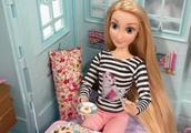 非常漂亮的迪士尼长发公主人偶玩具
