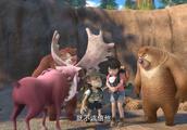 熊出没之探险日记2:光头强团队遇到一只驯鹿,但好像记性不太好