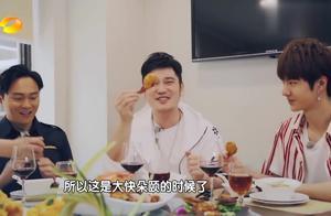 完全没想过,王一博也有浮夸的时候,吃个螃蟹也能这么逗!