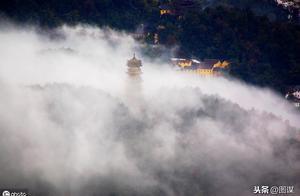 """被评为世界地质公园的九华山,曾被称为""""东南第一山""""!"""