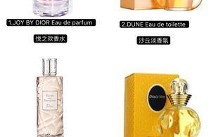 Dior香水购买指南——迪奥女士香水9大系列39款香水汇总
