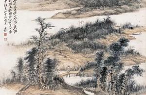 松下观瀑,江山无尽——张大千山水画精选