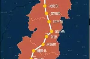 赣州至深圳将添新线——赣深高铁,投资641亿,预计后年通车!