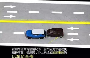【收藏帖】发生交通事故时的责任划分,学会这些知识以防万一!