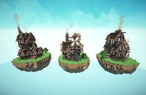 我的世界:三款值得下载的地图,最后一款吸引两波玩家下载