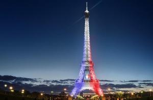 """欧洲杯盛宴 """"铁娘子""""也疯狂—巴黎的光影夜之梦"""