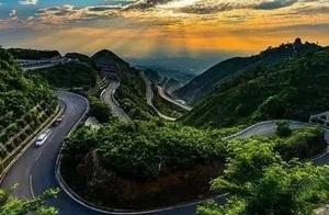 滴~打卡最美盘山路 | 你看到的不只是路,还有绚烂的临潼