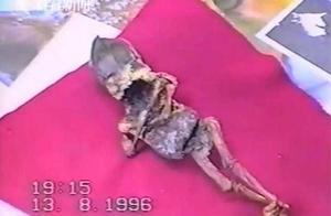 """俄妇女听哭声在墓地捡到""""外星人"""" 23年后揭真面"""