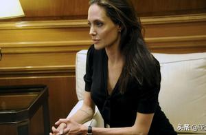 安吉丽娜·朱莉患面瘫和厌食症?与皮特离婚官司令她心力交瘁