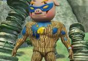猪猪侠之变身战队:猪猪侠和超人强发现不对劲时已迟了变成木头人