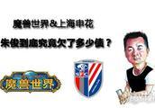 从魔兽世界到上海申花 朱俊究竟欠了多少债