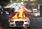 事故车辆被交警扣押期间自燃,此锅谁背?