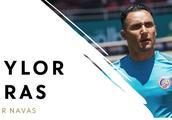 预防受伤,纳瓦斯缺席哥斯达黎加周四训练