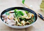 正宗河南烩面的做法,简单易学,老公吃的一点汤都不剩