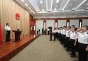 海关总署在京举行宪法宣誓暨海关关衔授予仪式