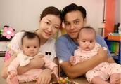 离开郭富城的熊黛林过得很幸福,母女俩的温馨合照,颜值高大眼睛