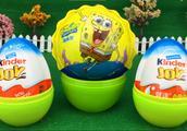 海绵宝宝出奇蛋 健达奇趣蛋 欢乐拆蛋