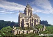 《我的世界》里三座精巧玲珑的小教堂 视觉效果不输巴黎圣母院