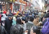 热度不减!春节假期结束芙蓉街还人挤人