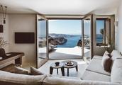 悬崖上的白色别墅,圣托里尼岛Vora酒店   K-studio_欧模设计圈