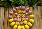 营养丰富的南瓜紫薯花样馒头,再挑食的孩子都能搞定,附详细做法
