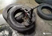 轮胎造假工具集中营!