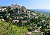 法国自助旅行,普罗旺斯美村天空之城Gordes