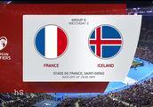 欧洲杯预选赛 法国4-0冰岛集锦