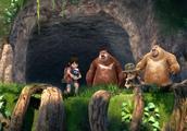 熊出没之探险日记2:大家来到了地下森林,里面的景色太漂亮了