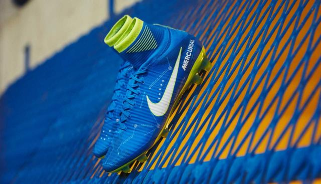近观!内马尔专属Nike Mercurial Superfly V NJR