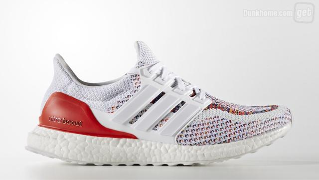 "多色升级!Adidas Ultra Boost ""Multicolor 2.0"""