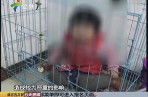 2岁女童疑遭亲爹伤害,照片流传出后起争论,父亲:只是摆拍