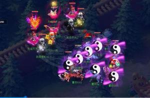 梦幻西游:天元组比赛,面对4输出,看曹府战队如何化险为夷?